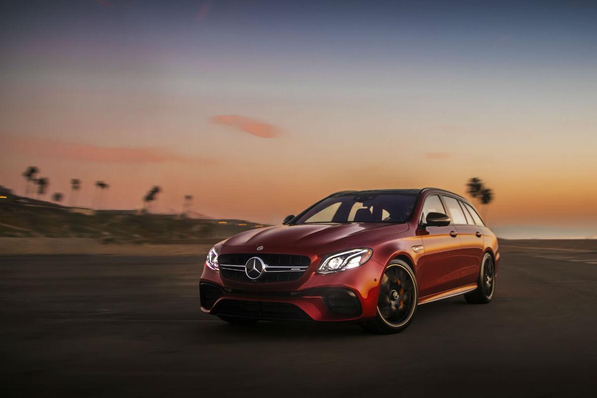 2018 mercedes benz e class wagon standard and available for Mercedes benz e class wagon