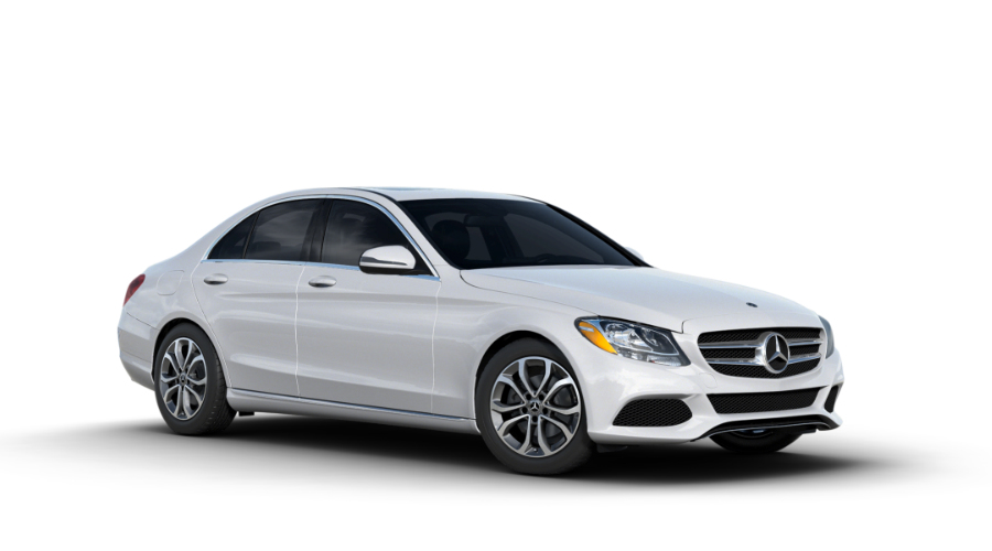 2018 Mercedes-Benz C-Class in Polar White