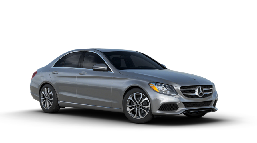 2018 Mercedes-Benz C-Class in Iridium Silver Metallic