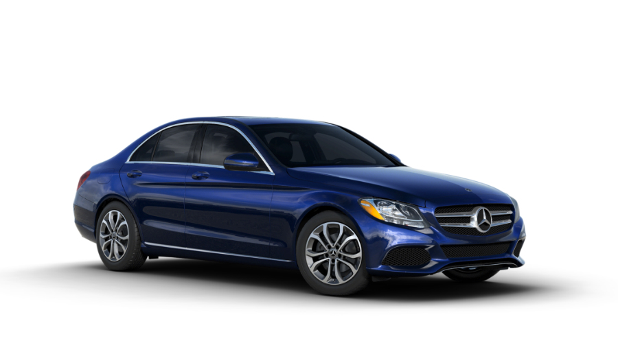 2018 Mercedes-Benz C-Class in Brilliant Blue Metallic