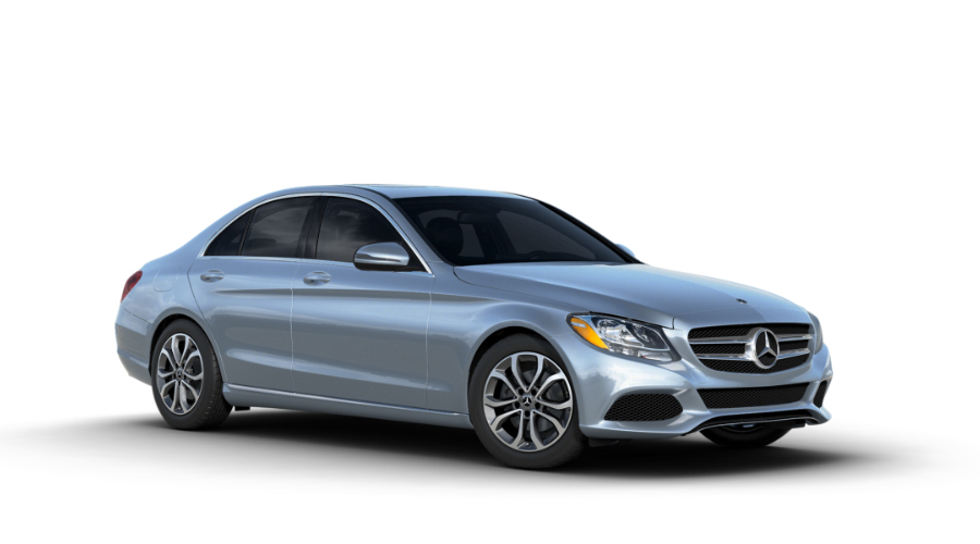 2018 Mercedes-Benz C-Class in Diamond Silver Metallic