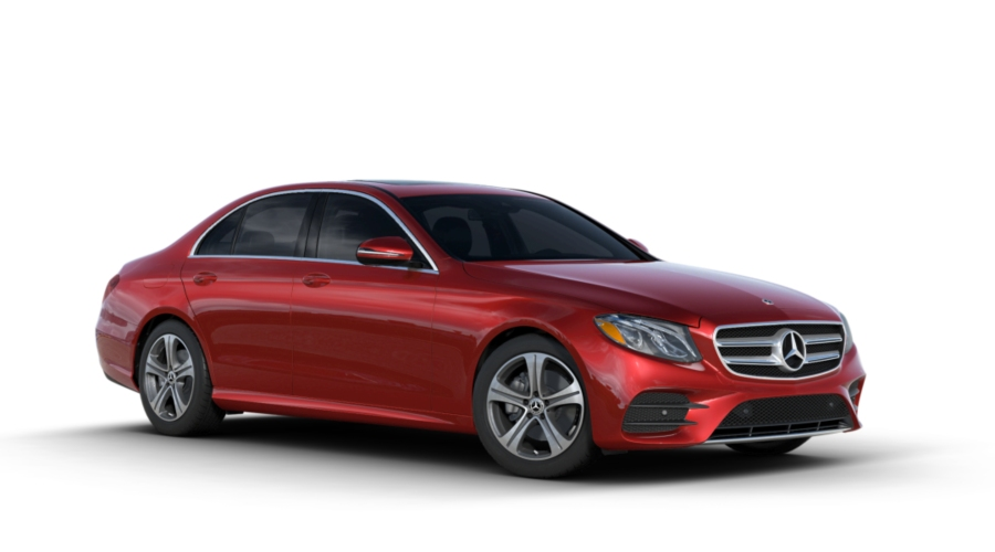 2018 Mercedes-Benz E-Class in designo Cardinal Red Metallic