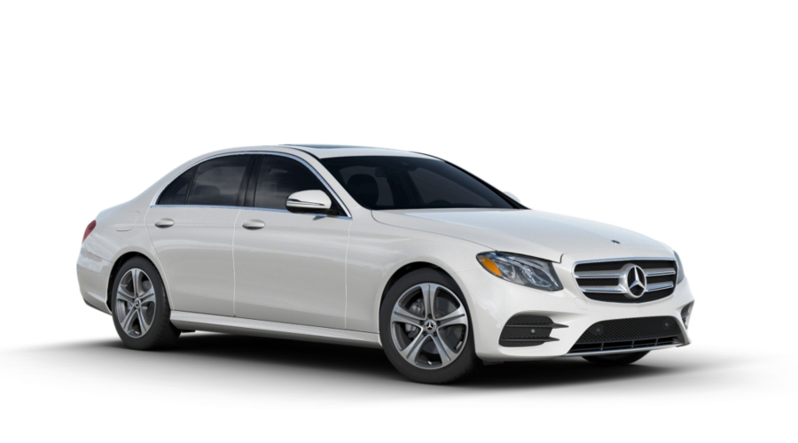 2018 Mercedes-Benz E-Class in designo Diamond White Metallic