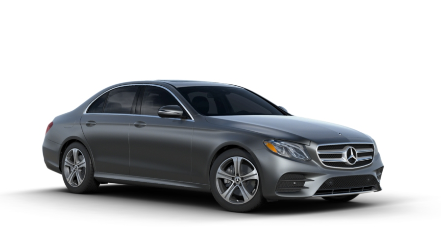 2018 Mercedes-Benz E-Class in designo Selenite Grey Magno (matte)