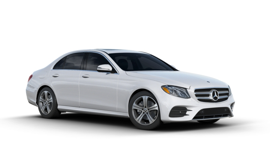 2018 Mercedes-Benz E-Class in Polar White