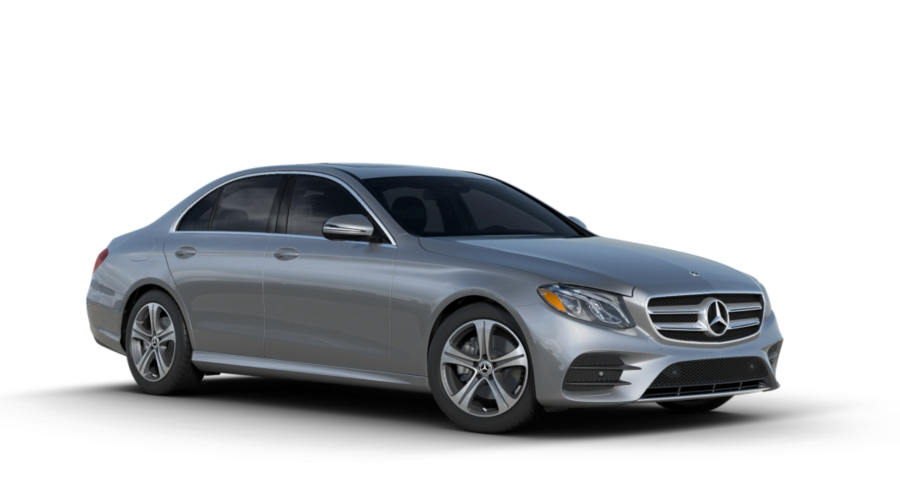 2018 Mercedes-Benz E-Class in Iridium Silver Metallic