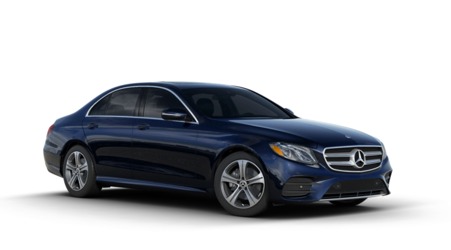 2018 Mercedes-Benz E-Class in Lunar Blue Metallic