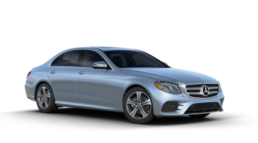 2018 Mercedes-Benz E-Class in Diamond Silver Metallic