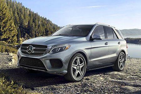 2018 Mercedes-Benz GLE parked in nature