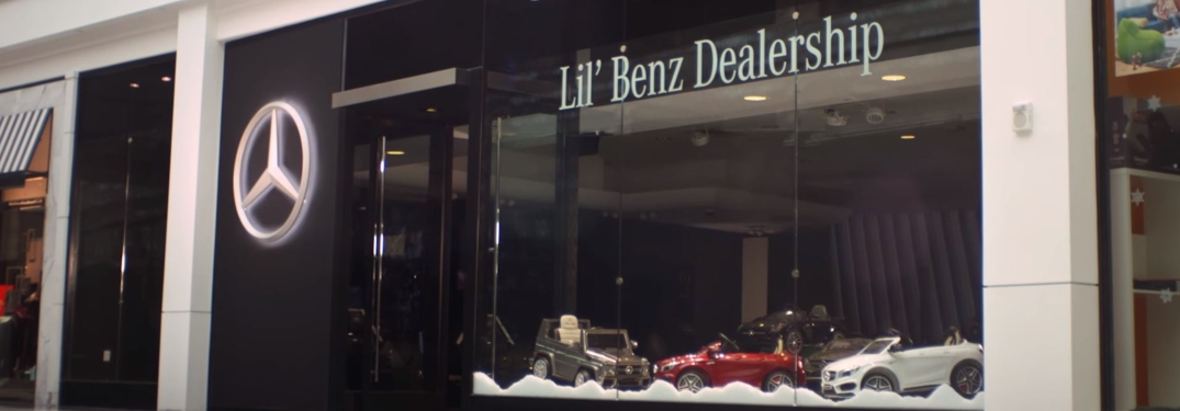 Lil Benz dealership in Mercedes-Benz commercial