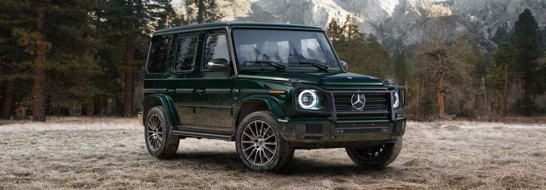 Learn About the New Redesigned G-Class