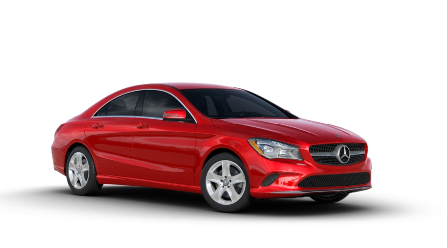 2019 Mercedes-Benz CLA in Jupiter Red