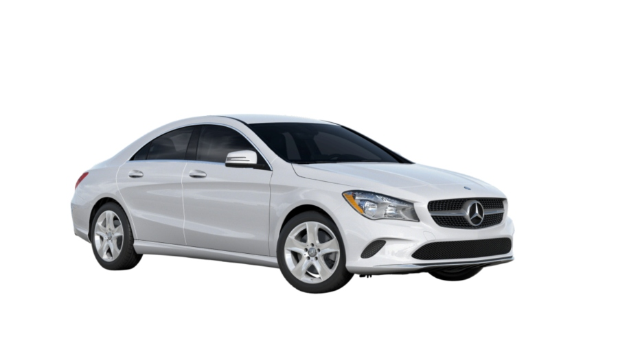 2019 Mercedes-Benz CLA in Polar White