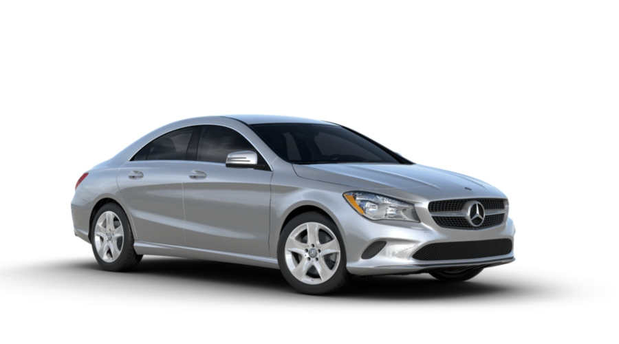 2019 Mercedes-Benz CLA in Polar Silver metallic