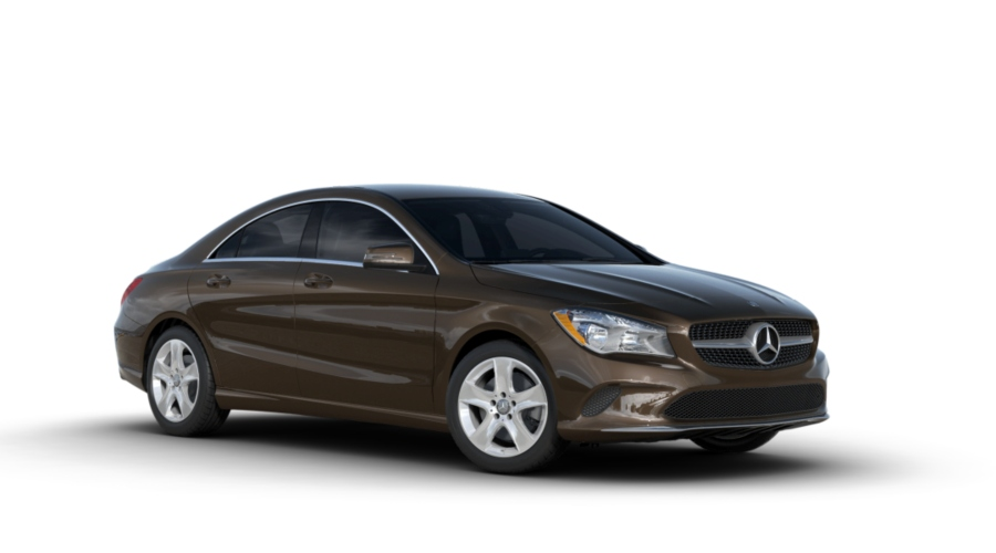 2019 Mercedes-Benz CLA in Cocoa Brown metallic