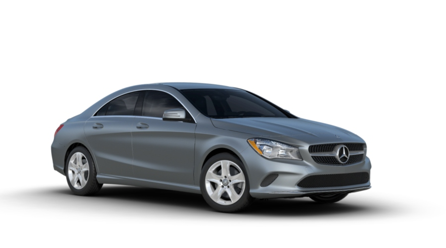 2019 Mercedes-Benz CLA in designo Polar Silver metallic (matte finish)