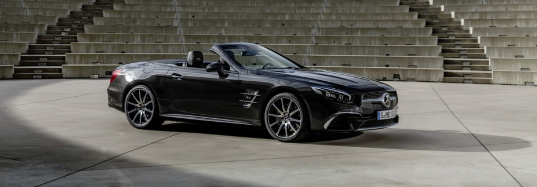 Side view of a 2020 Mercedes-Benz SL Grand Edition