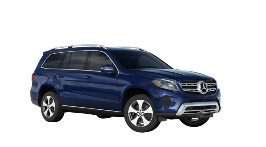 2019 Mercedes-Benz GLS in Brilliant Blue metallic