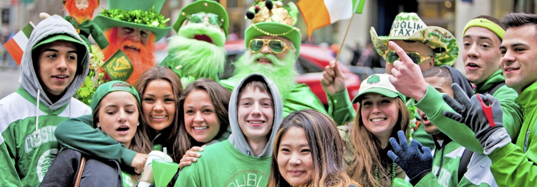 Get Out Your Greenest Clothes and Celebrate St. Patrick's Day in Wilmington