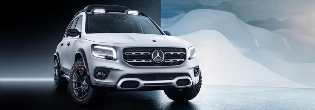 Mercedes-Benz GLB at Auto Shanghai