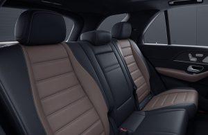 2020 Mercedes-Benz GLE rear seats