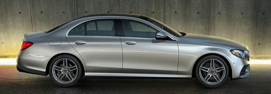 2020 Mercedes-Benz E-Class side profile