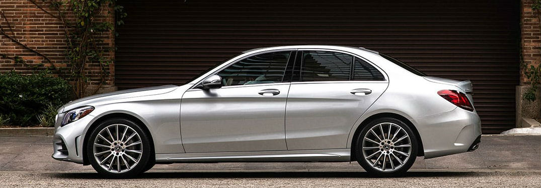 2020 Mercedes-Benz C-Class sedan side profile