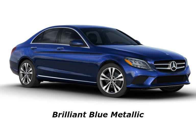 2020 Mercedes-Benz C-Class in Brilliant Blue Metallic