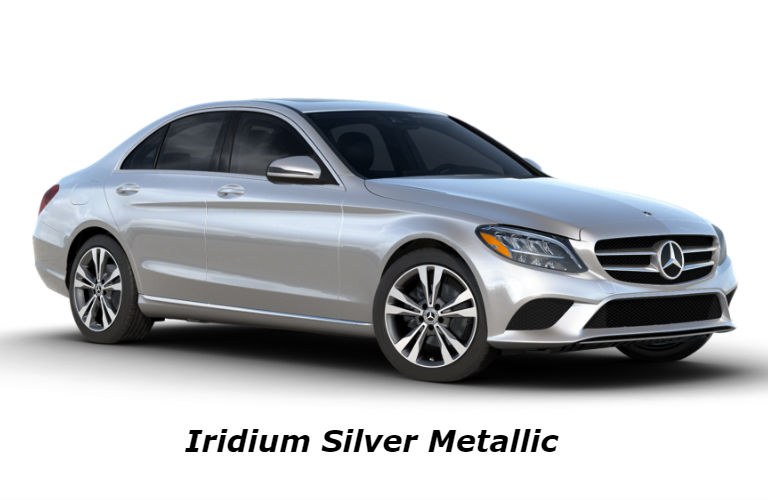 2020 Mercedes-Benz C-Class in Iridium Silver Metallic