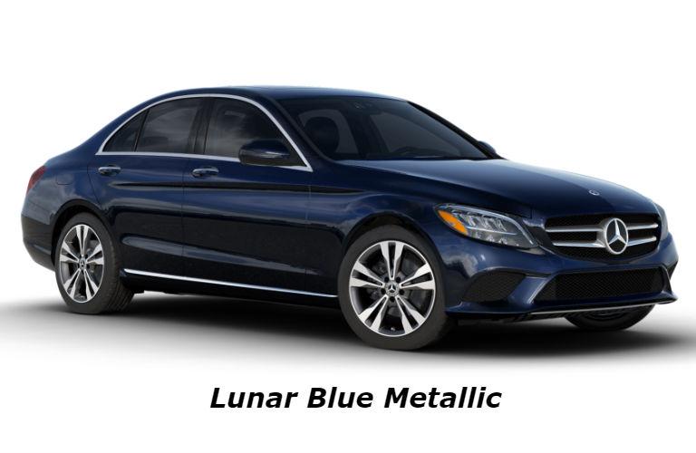 2020 Mercedes-Benz C-Class in Lunar Blue Metallic