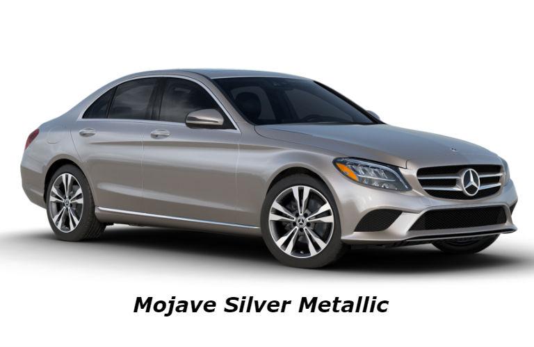 2020 Mercedes-Benz C-Class in Mojave Silver Metallic