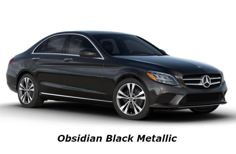 2020 Mercedes-Benz C-Class in Obsidian Black Metallic