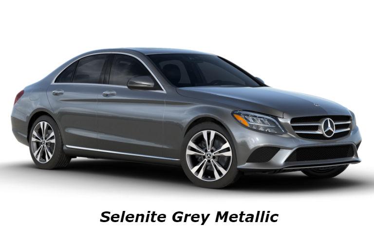 2020 Mercedes-Benz C-Class in Selenite Grey Metallic
