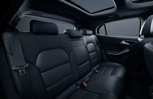 2020 Mercedes-Benz GLA rear seats