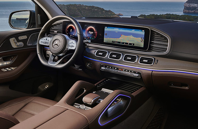 2020 Mercedes-Benz GLS dashboard