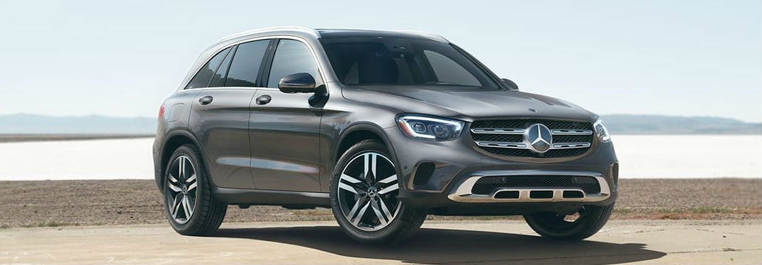 2020 Mercedes-Benz GLC front and side profile