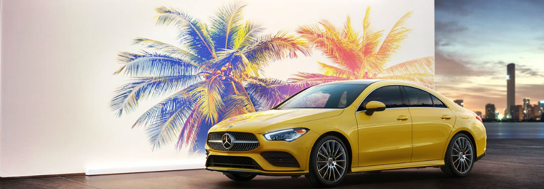 2020 Mercedes-Benz CLA Coupe has an incredible list of exterior paint color options to choose from