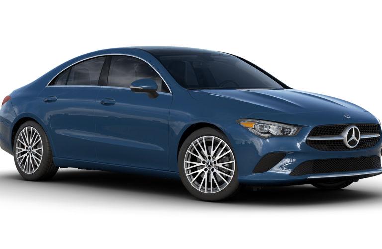 2020 Mercedes-Benz CLA Denim Blue Metallic