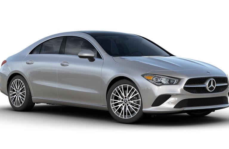 2020 Mercedes-Benz CLA Iridium Silver Metallic
