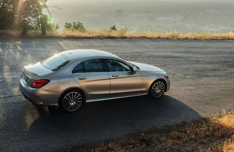 2020 Mercedes-Benz C-Class driving on a road