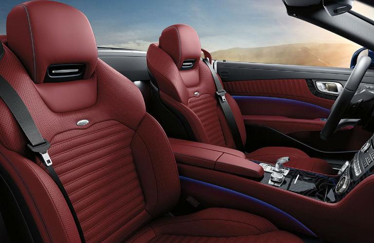2020 Mercedes-Benz SL front seats