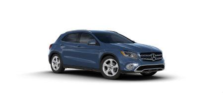 2020 Mercedes-Benz GLA Denim Blue Metallic