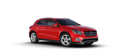 2020 Mercedes-Benz GLA Jupiter Red