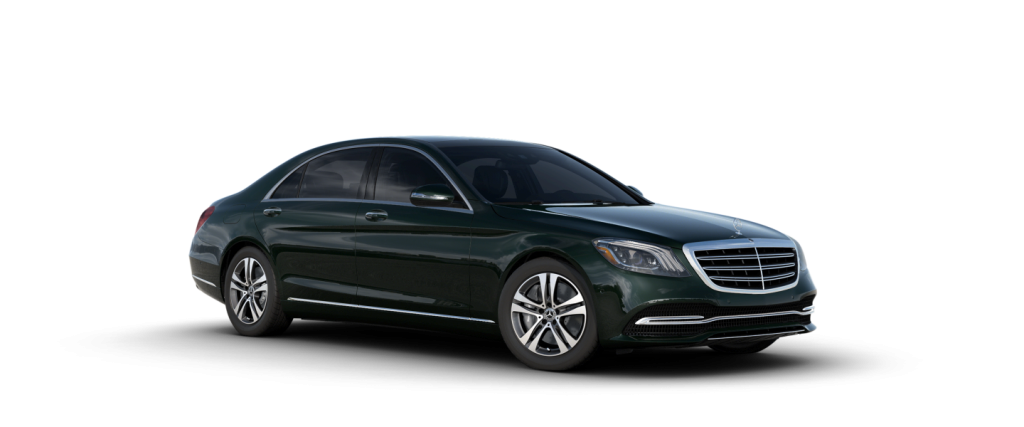 2020 Mercedes-Benz S-Class Emerald Green Metallic