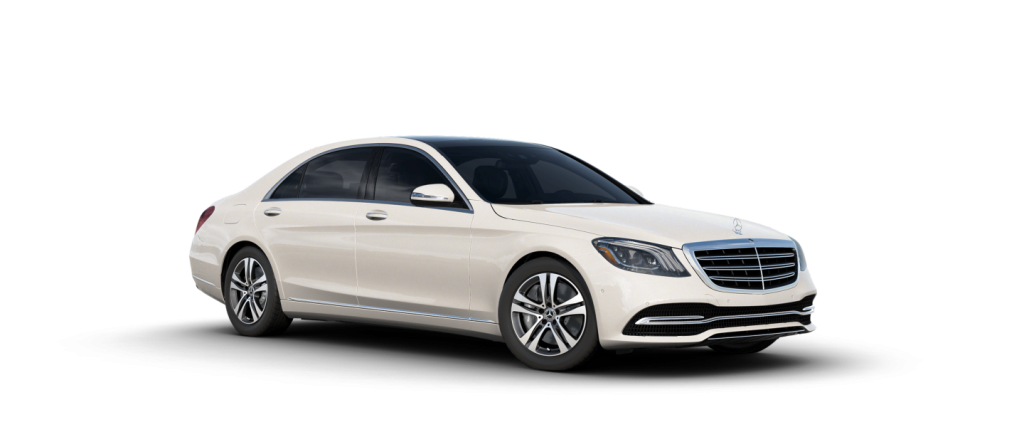 2020 Mercedes-Benz S-Class designo® Diamond White Metallic
