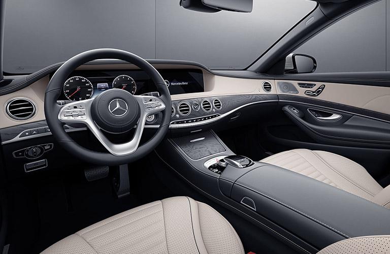 2020 Mercedes-Benz S-Class dashboard