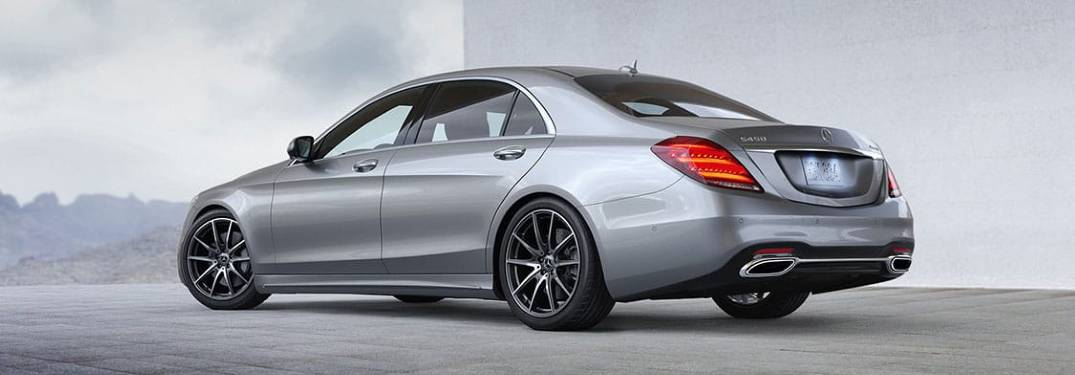 2020 Mercedes-Benz S-Class side profile