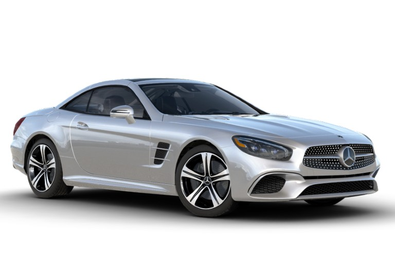 2020 Mercedes-Benz SL Iridium Silver metallic
