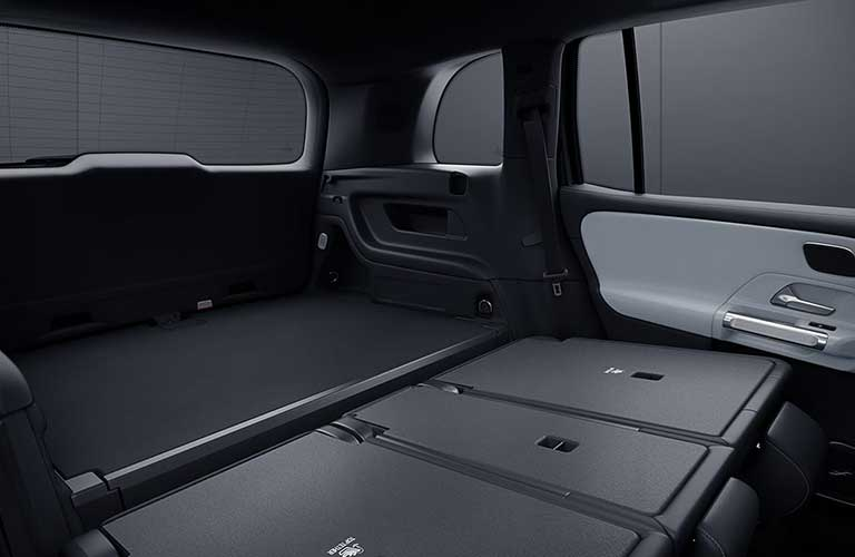 2020 Mercedes-Benz GLB rear cargo area