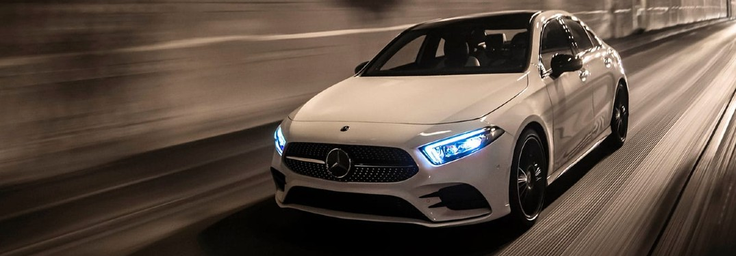High-tech features help give the new 2020 Mercedes-Benz A-Class sedan a top safety rating